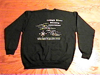 Green LRSA sweatshirt rear